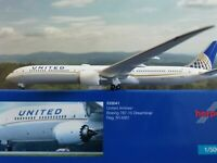 Herpa Wings 1:500 533041  United Airlines Boeing 787-10 Dreamliner