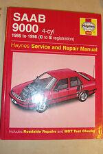 SAAB 9000 HAYNES SERVICE & REPAIR MANUAL Inc TURBO 16 CDi & AUTO 1985-1998 C-S