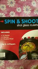 Spin & Shoot Shot Glass Roulette Drinking Game