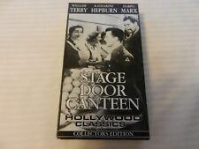 Stage Door Canteen (VHS/EP, 1999, Collectors Edition) Katherine Hepburn