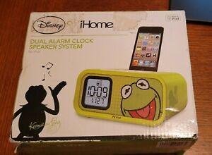 Disney I Home Kermit the Frog Dual Alarm Clock for Ipod