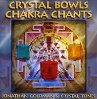 Jonathan Goldman - Crystal Bowls Chakra Chants [New CD]