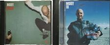 2 x Moby CDs: Play (1999) 18 (2002) VG+== condition.