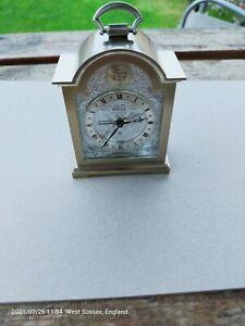 Swiza mini 8 day carriage clock