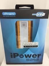 POWER BANK Batería externa cargador universal para movil y tablet de 6500mah USB