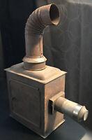 Antique Vintage Lantern Slide Projector (unbranded - Majestic Magic Lantern?)