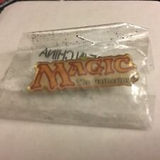 MAGIC THE GATHERING Lapel Pin Collectable MTG Vintage 2003 Official Logo NEW