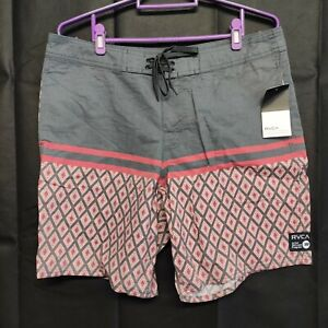 RVCA Men's Swimwear Board Shorts Size 34