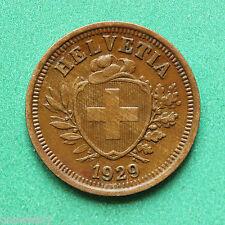 1929 Switzerland 1 Rappen SNo37399