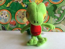 Pokemon Plush Treecko 2004 Stuffed Doll figure Bandai Friends Series USA Seller
