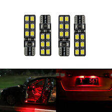 G4 AUTOMOTIVE 4x T10 192 LED Bulbs 2835 High Bright Width DRL Red Side Light