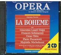 Puccini: La Boheme / Padilla, Lauri-Volpi, Schimenti, Titta , Micheluzzi - CD
