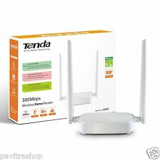 TENDA N301 N300 300mbps Home Wireless WiFi Router With 5 dBi Dual Antenna