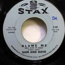 SAM and DAVE 45 Blame Me / You Dont know like I know STAX northern soul  d221