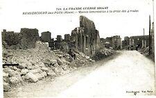 CPA La Grande Guerre 1914-17 Rembercourt-aux-Pots (Meuse) - Ruines .... (178532)