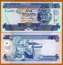 Solomon Islands, $5, ND (2012), P-26 C/9 UNC