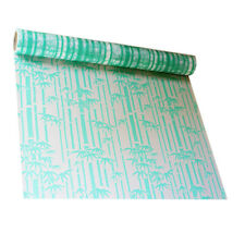 Green Bamboo Window Film Frosted Opaque Glass Sticker Privacy Bedroom Home Decor