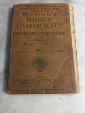 Warne's Model Cookery And Housekeeping Book Mary Jewry London New York 1868