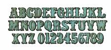 """FUSTELLA SIZZIX """"ALFABETO MAIUSCOLO"""" VINTAGE 658772 STAMPA PER BIG SHOT LETTERE"""