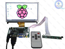 6.5inch AT065TN14 800*480 LCD kit for Raspberry pi with VGA HDMI Reversing board