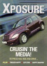 Chrysler Jeep Xposure Dealer Magazine Spring 2003 UK Brochure PTCruiser Cherokee