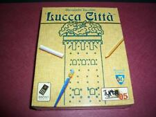 Alessandro Zucchini Lucca Citta Card Game by Da Vinci Games - New / Sealed!