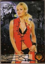 BENCHWARMER VAULT 2010 RENEE STONE HALLOWEEN AUTHENTIC AUTOGRAPH CARD VH 13/16
