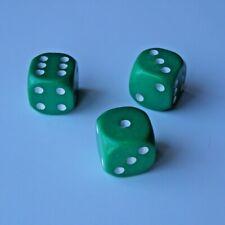 12Pcs 25mm Vintage Replacement Plastic Game Pieces Chessman /& Dices Kids Toy