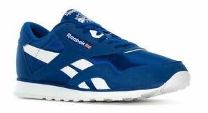 MEN'S REEBOK CLASSICS CLASSIC NYLON Jogger Royal Blue White EG2733 NEW 8-12