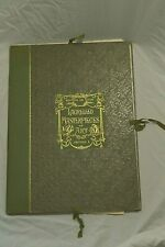 RARE! 1893 EDITION DELUXE LAURELLED MASTERPIECE OF ART, SECTION I BOOK PRINTS