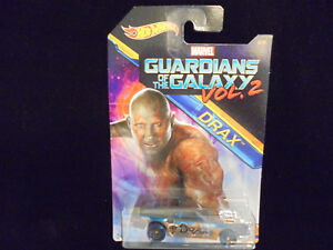 Hot Wheels Marvel Guardians Of The Galaxy Vol .2  Drax Riveted 2/8 Collectible