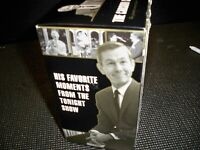 VHS ''THE CARSON COLLECTION'' JOHNNY CARSON 4 VOLUMES SEALED VHS