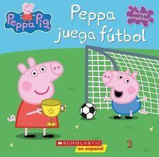 Peppa juega ftbol Cerdita Peppa Spanish Edition
