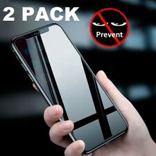 Privacy Tempered Glass Screen Protector For iPhone 11 Pro Max Cover 2 Pack