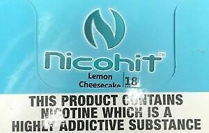 NICOHIT VAPE LIQUID E LIQUID 25 FLAVOUR READY TO VAPE | 20 X 10ML