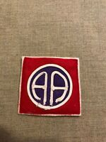 WWI US Army 82nd Division patch wool felt AEF