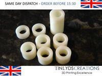 Ultimaker 2 Nylon Isolator Kit - 3D printer part