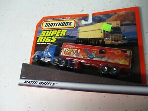 """Matchbox China Convoy CY-9 Kenworth Box Truck """"Froot Loops"""", blistercarded"""