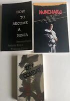 How To Become A Ninja Zen Combat NUNCHAKU Karate & Self-Defense Paperback Books