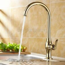 Brass Single Lever Gold Kitchen Taps