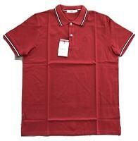 EU 52 Bally Gray Cotton Polo Short Sleeve Shirt Size Large