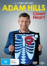 Adam Hills: Clown Heart (2017) - DVD (Region 4) - BRAND NEW & SEALED - Freepost