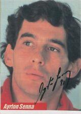 Ayrton Senna Hand Signed Formula 1 F1 Photo Autograph Rare 1991 McLaren