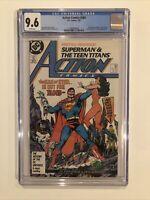 Action Comics #584 CGC 9.6 John Byrne art begins 1987