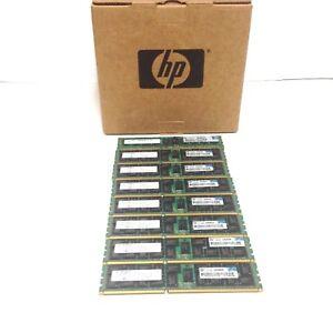 Lot of (8) 593339-B21 HP 10X4GB PC3-10600R 595424-001 591750-071 MEMORY KIT