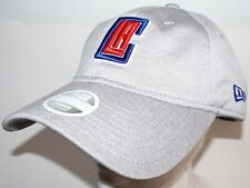 13481e020fb LOS ANGELES LA CLIPPERS GREY SLOUCH HAT BASKETBALL OEM NEW ERA WOMENS ONE  SIZE