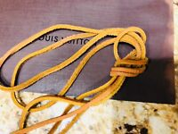 "45"" Draw String For Louis Vuitton Leather DrawString Montsouris Backpack NOE Bag"