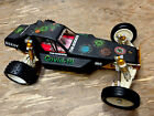 Vintage RC10 Six Gear Team Associated AE Gold Pan Buggy With Body