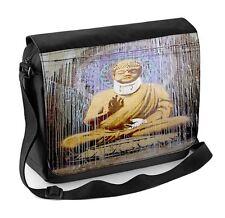 Banksy blessés bouddha ordinateur portable sac messenger