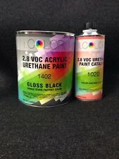 Gloss Black Gallon Kit Single Stage ACRYLIC URETHANE  Auto Paint Kit